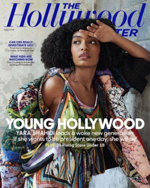 Yara Shahidi, The Hollywood Reporter, Magazine Cover