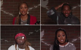 Eve, Pusha T, Remy Ma, Lil Wayne, Mean tweets, Jimmy Kimmel Live