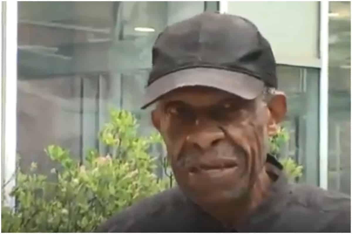 My Wife With Black Men: Elderly Black Man Walks 12 Miles To Visit Hospitalized
