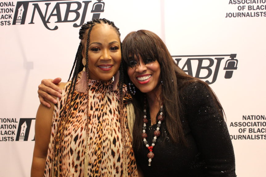 Erica Campbell and Vickie Winans