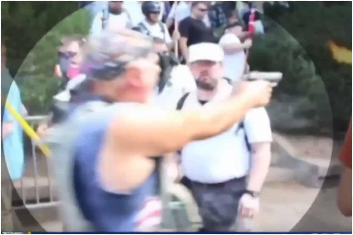 KKK, Charlottesville rally, Richard W. Preston