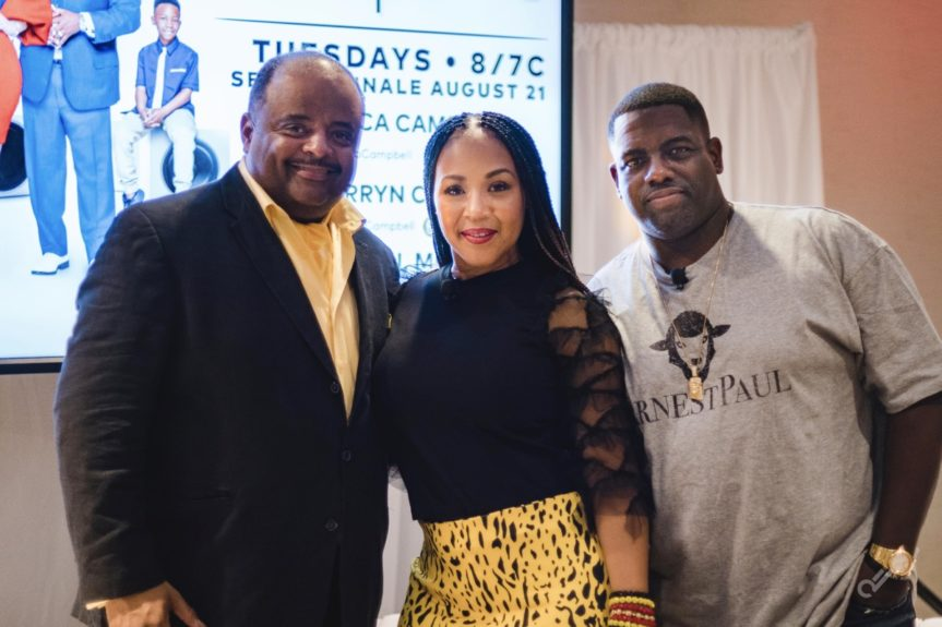 Roland Martin and Erica & Warryn Campbell