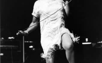 Aretha Franklin, Iconic performance, ebony