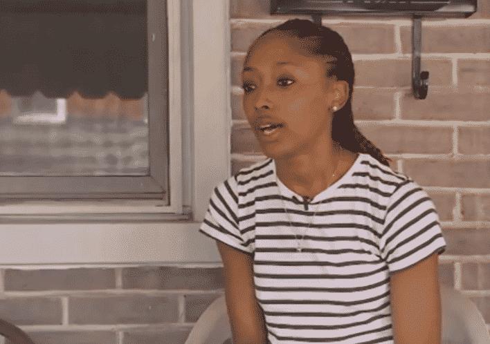Ebony girl screaming