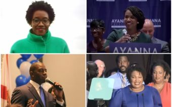 Black political candidates, Stacey Adams, Lauren Underwood, Ayanna Pressley, Andrew Gillum