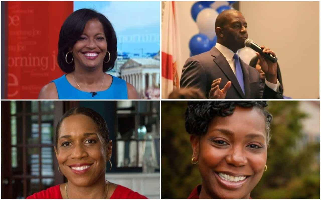 Gillum, Hayes, Spaulding, Stratton, black candidates