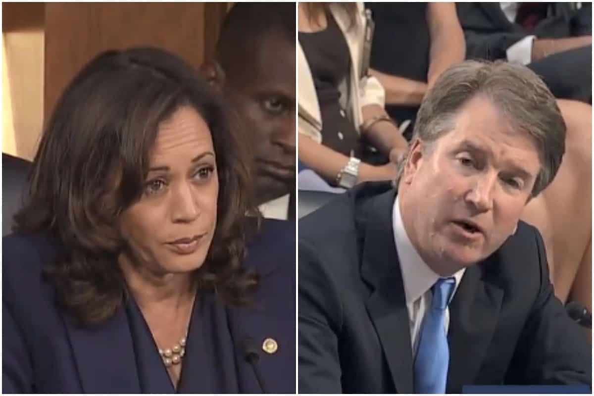 Kamala Harris, Brett Kavanaugh, Supreme Court