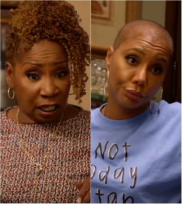 Iyanla Vanzant Tells Off The Braxtons Before Walking Out on Group Session  (VIDEO)