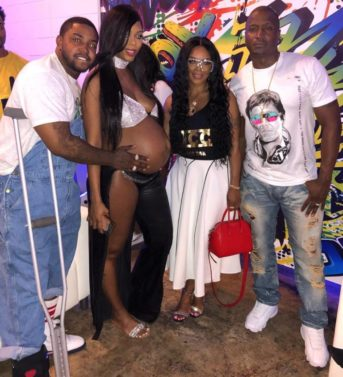 Bambi & Scrappy of 'L&HH' Throw 90s-Themed Baby Shower (PHOTOS)