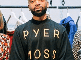 Pyer Moss Examines Race Relations Through Style During New York Fashion Week