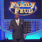 Steve Harvey, Pusha T, Family Feud