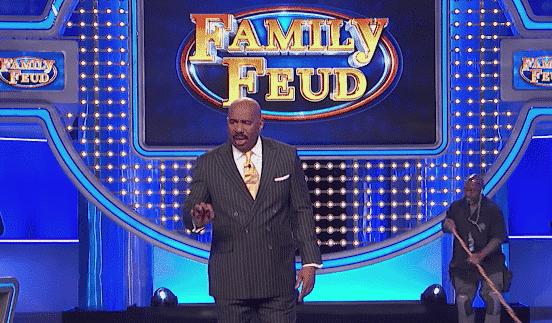Steve Harvey, Pusha T, Family Feud