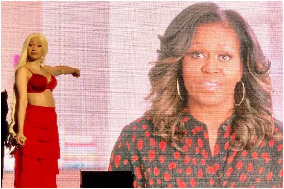 Cardi B, Michelle Obama, Global Citizen