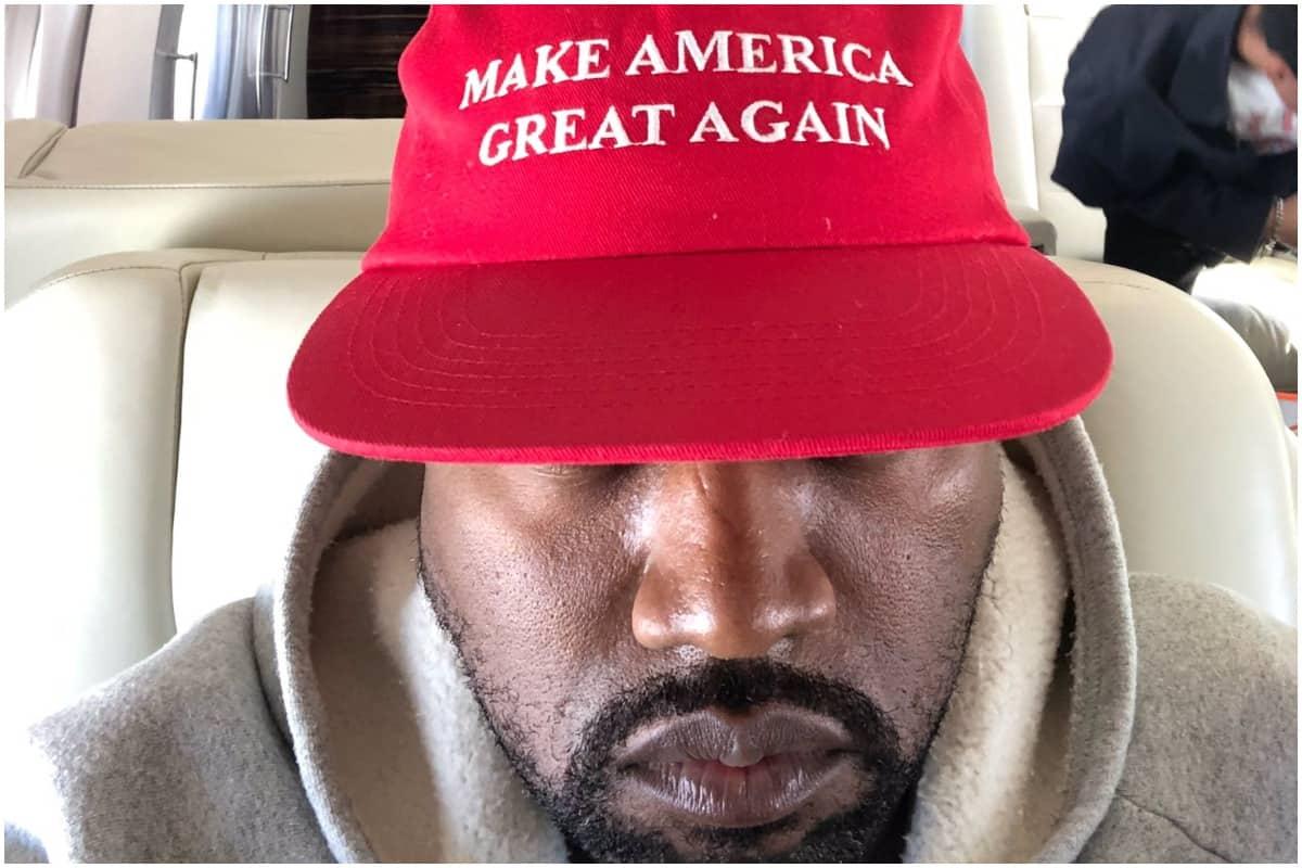 Kanye West, MAGA, Trump