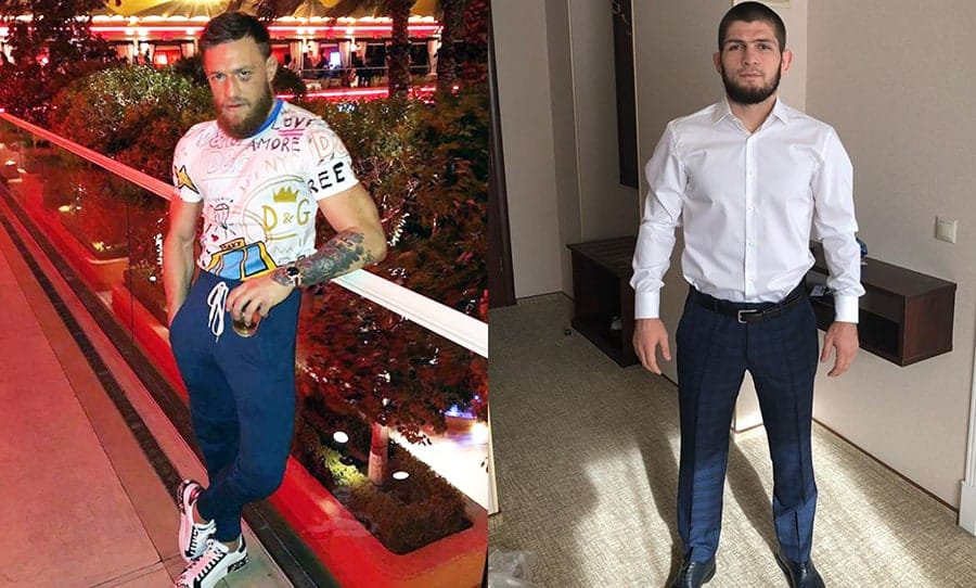 McGregor, Khabib, UFC, EBONY