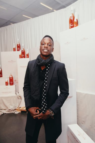 Keith Howard at the launch of Moët & Chandon Nectar Impérial Rosé c/o Virgil Abloh™ in New York City (Photo Credit: Kenneth L. Dixon)