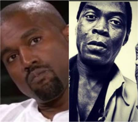 Kanye West Called Out by Son of Fela Kuti