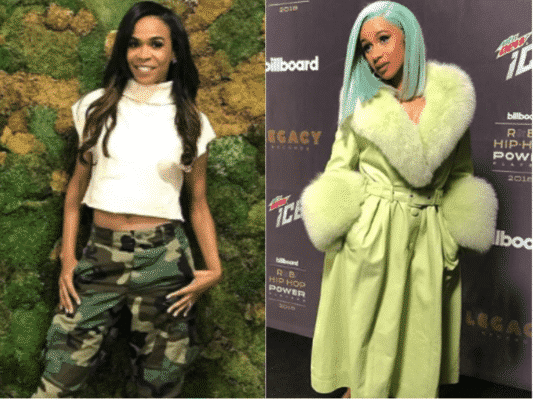 Michelle Williams, Cardi B