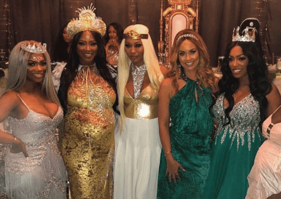 Kenya Moore Throws Star-Studded, Fairy-Tale Baby Shower (PHOTOS)