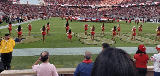 San Francisco 49ers, Cheerleader