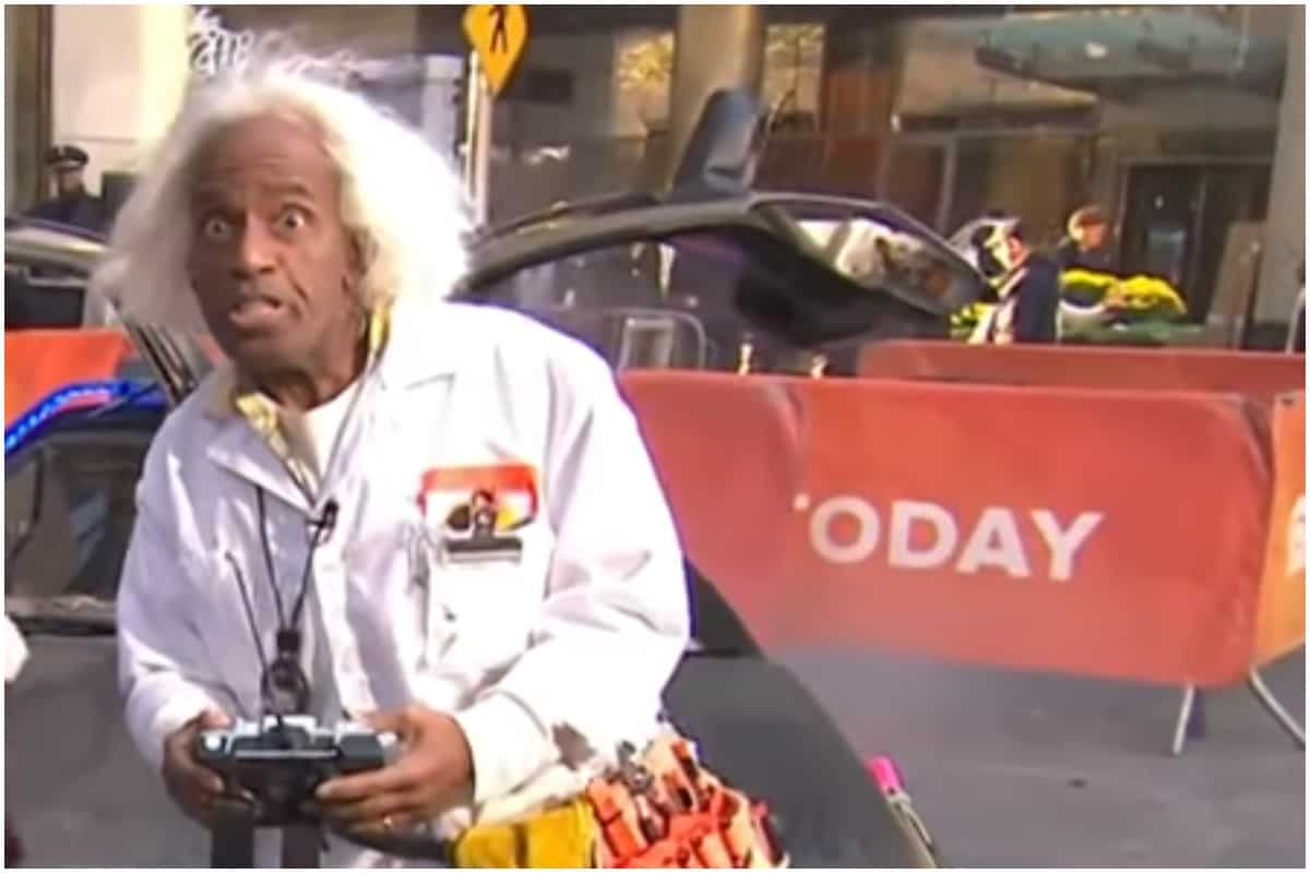 Al Roker, Halloween, Today Show