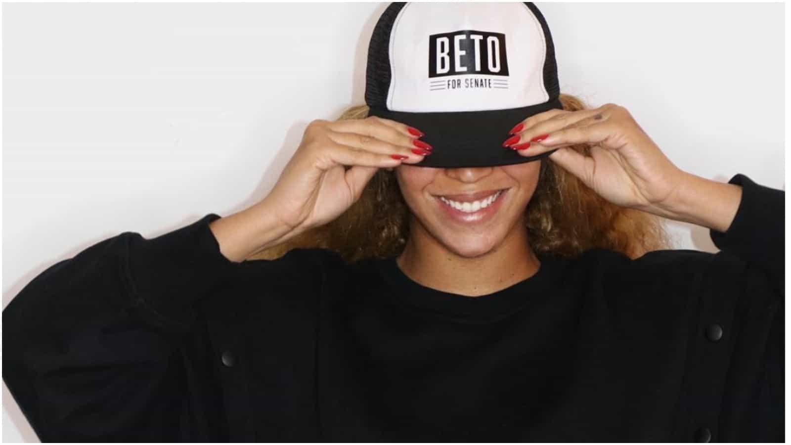 Beyoncé, Beto O'Rourke, Senate