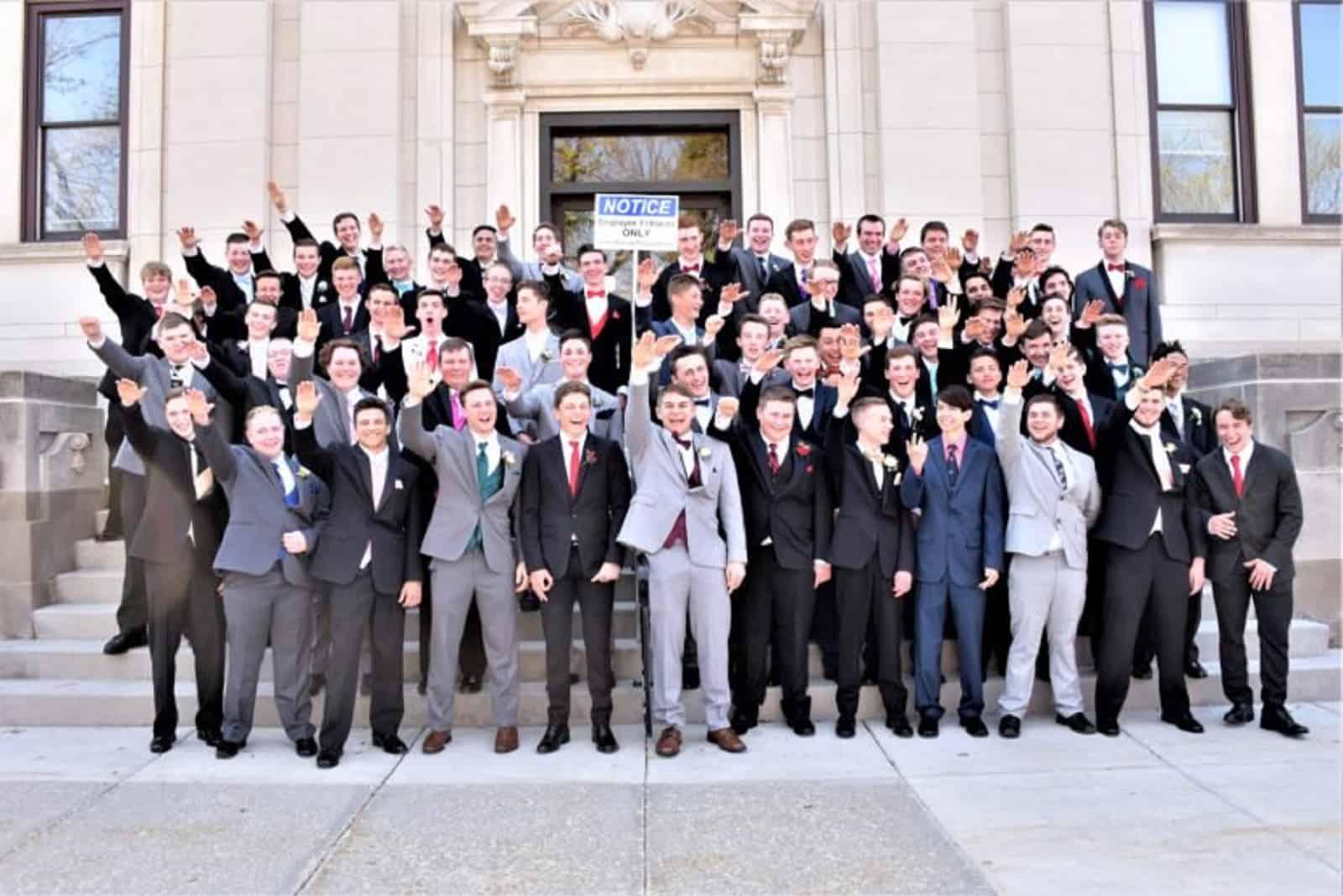 Wisconsin High School, NAzi Salute