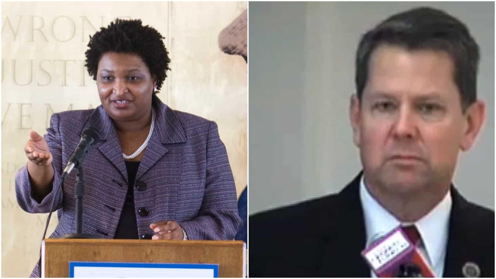 Stacey Abrams, Brian Kemp, Georgia