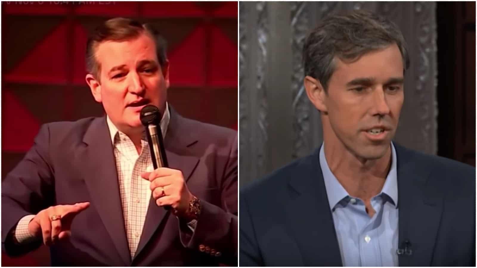 Ted Cruz, Beto O'Rourke, Texas, Senate