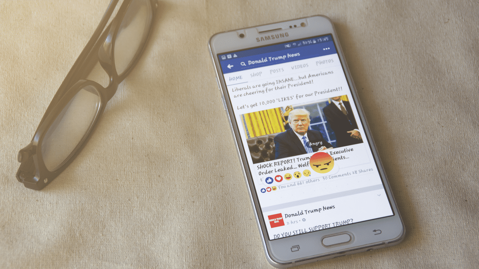 Donald Trump, Facebook, EBONY