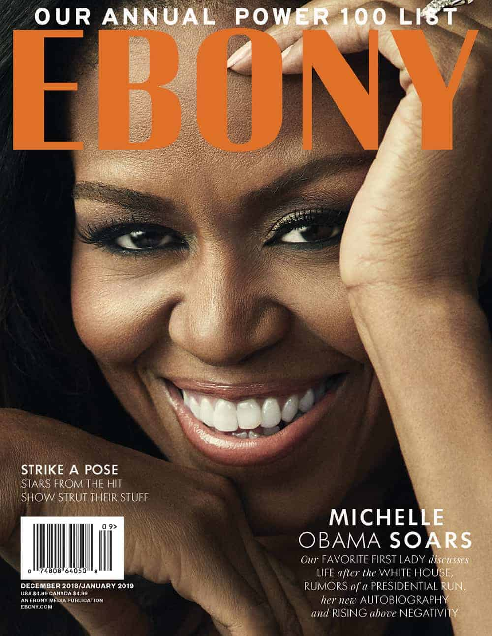 Image result for MICHELLE OBAMA EBONY MAGAZINE
