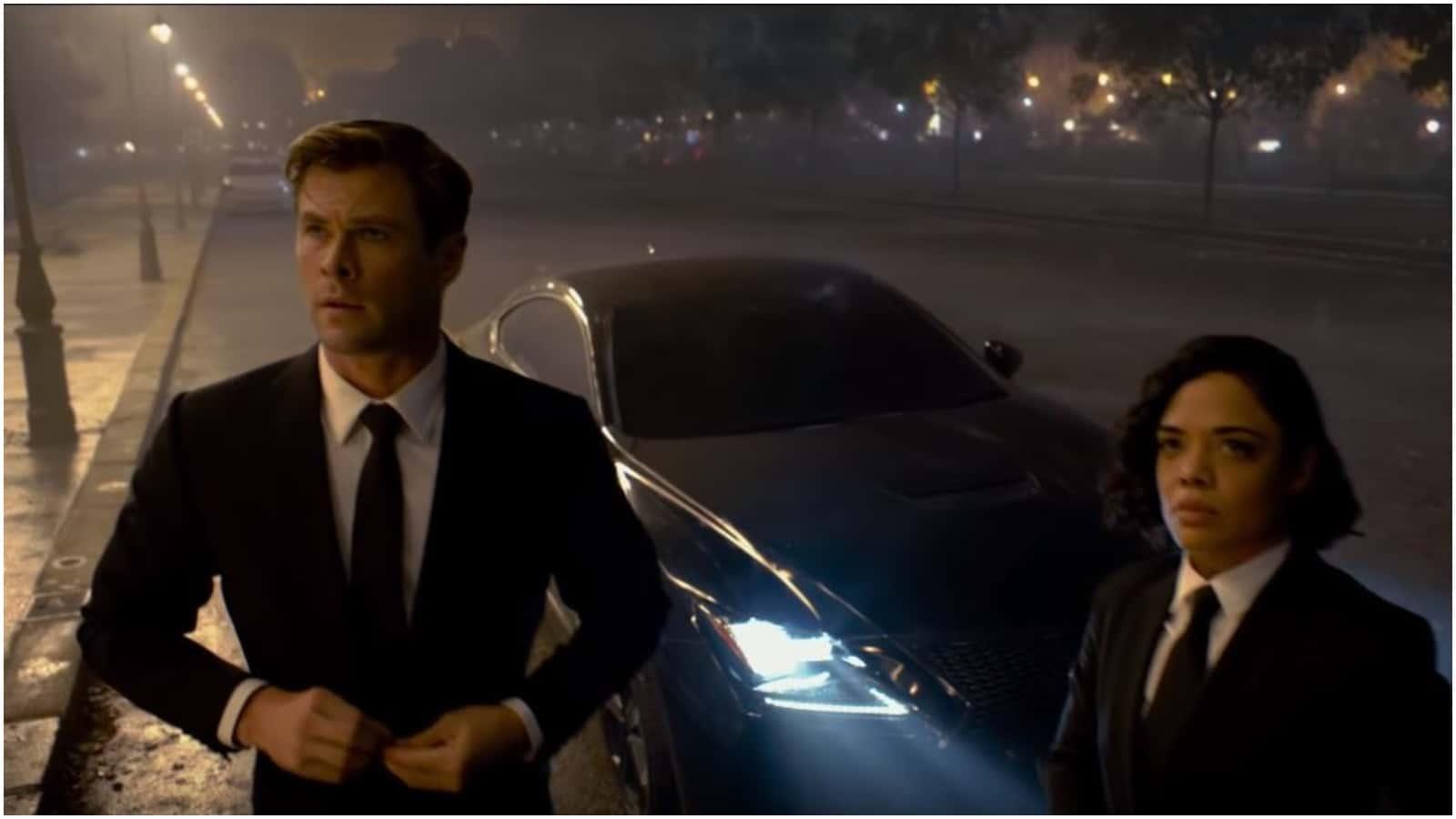 See Tessa Thompson, Chris Hemsworth in 'Men In Black International' Trailer