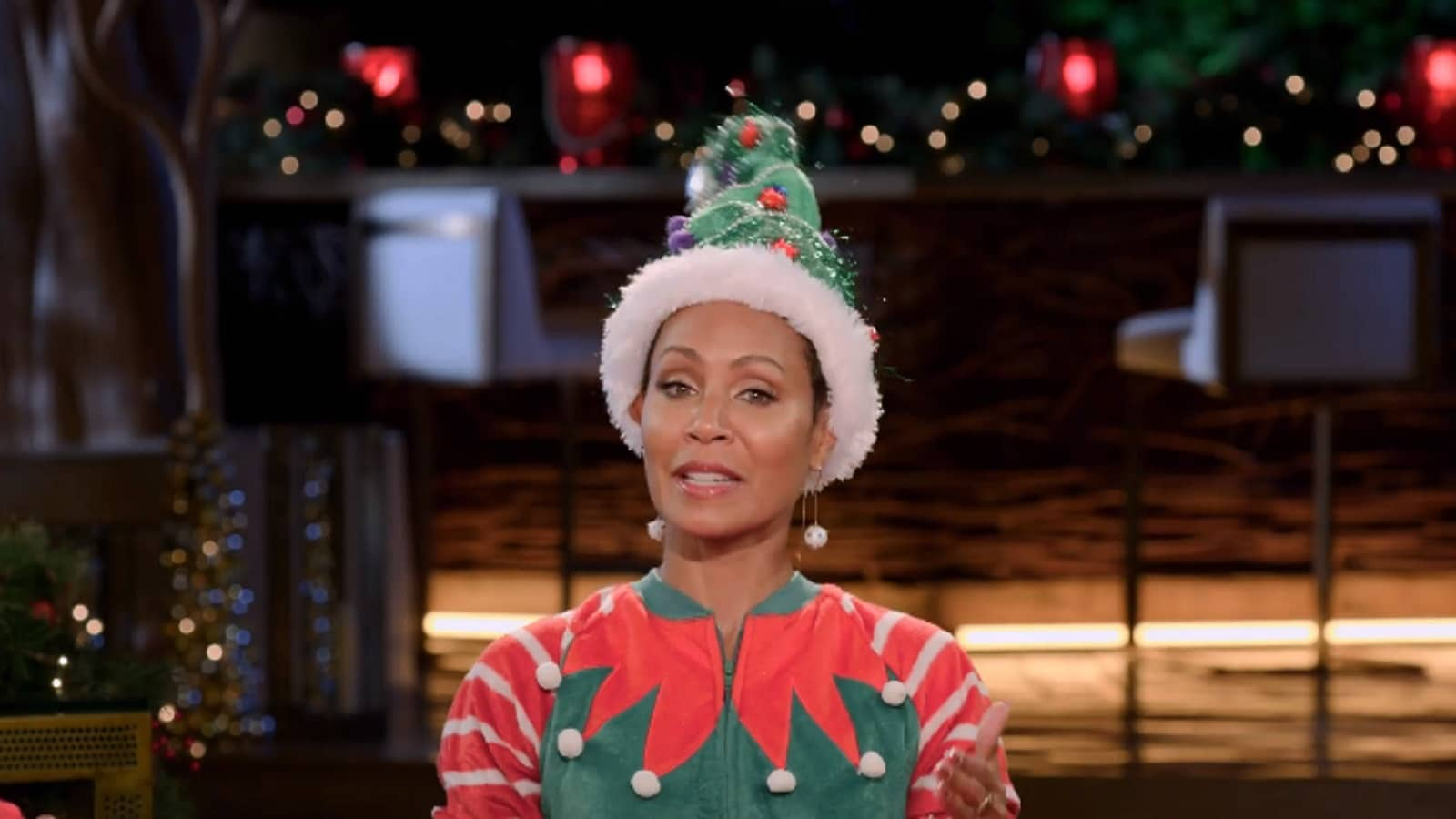 Jada Pinkett Smith Reveals First Guy She Brought Home for Christmas