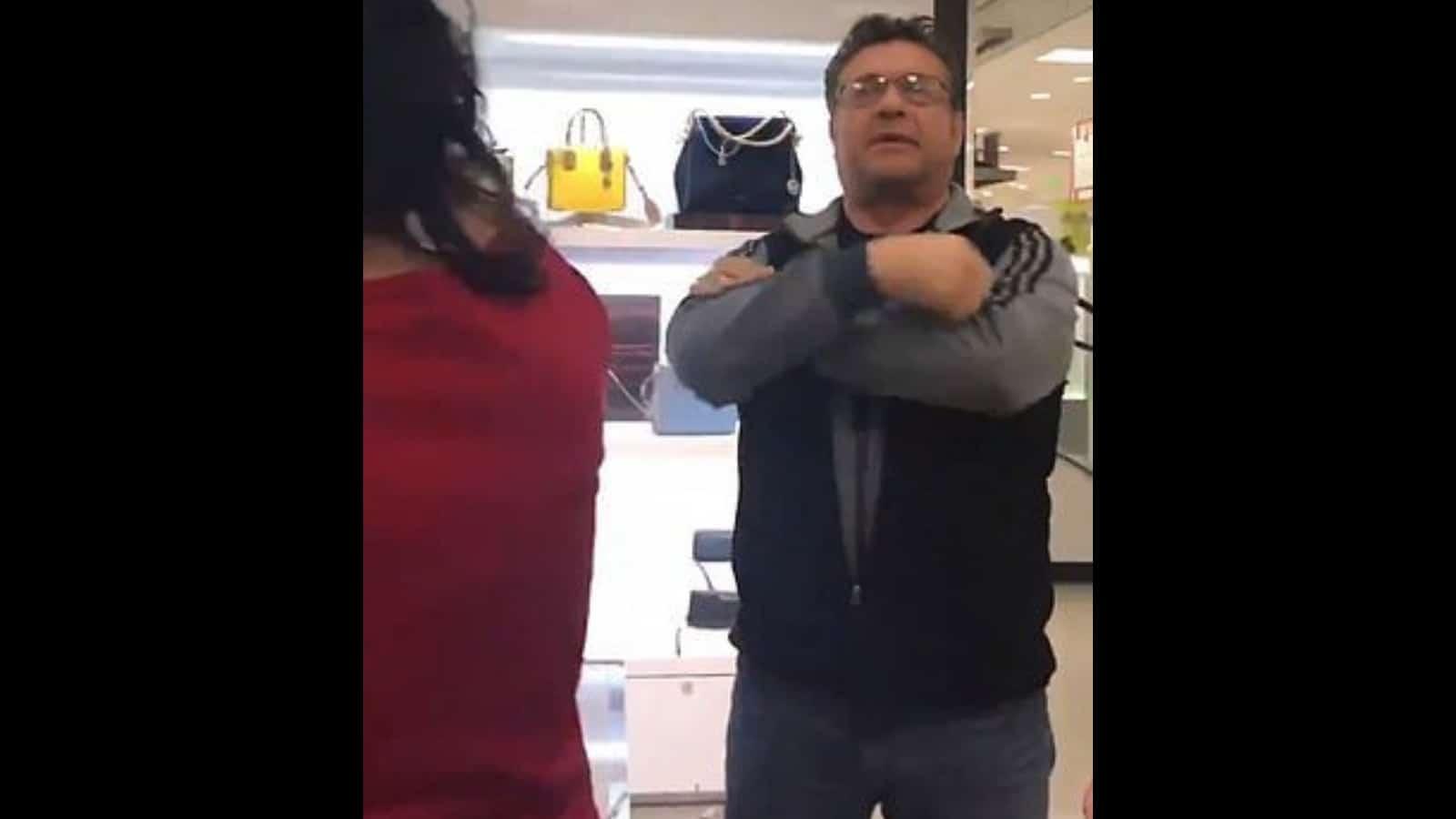 White Man Goes on Tirade Against Arabic-Speaking Macy's Associate