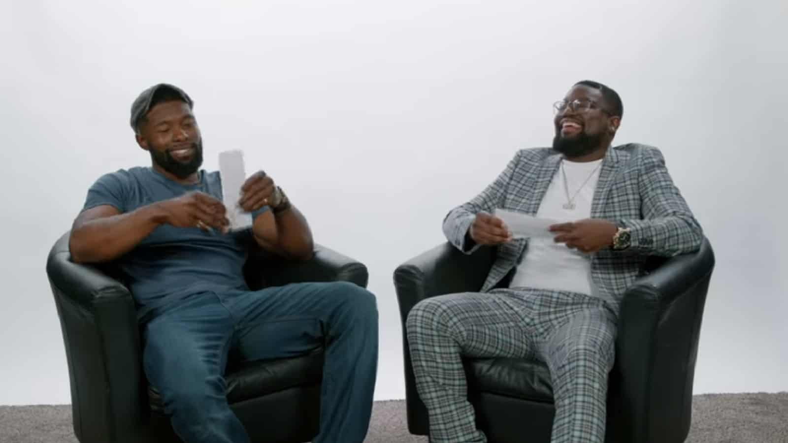Trevante Rhodes & Lil Rel on 'Bird Box' and Black Actors in Thrillers