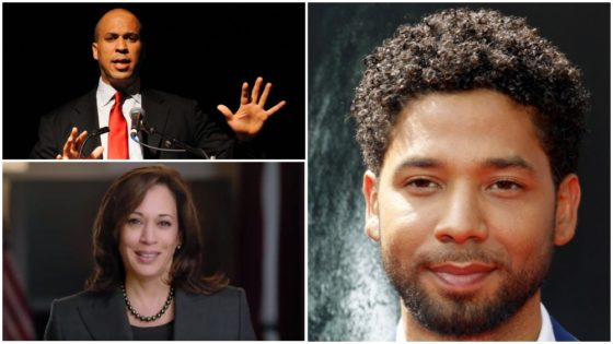 Senators Harris, Booker Call Jussie Smollett Attack A 'Modern-day Lynching'