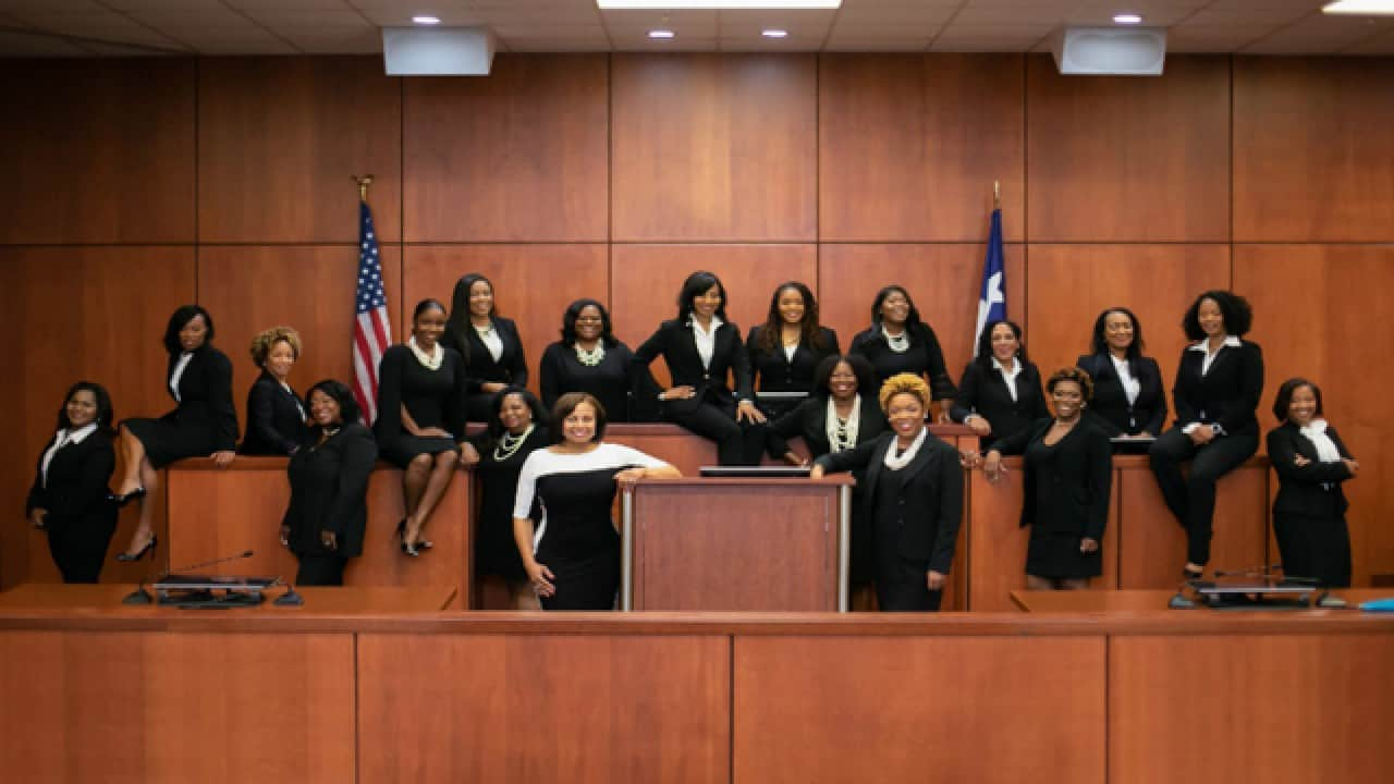 Texas County Makes History After Swearing in 17 Black Female Judges