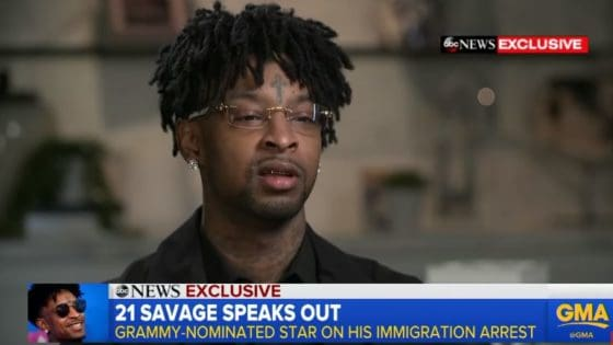 21 Savage Is 'Accepting' His Fear of Potential Deportation