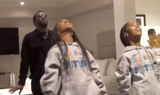 Diddy Learns Dance to Help His Daughters Prepare for 'Dreamgirls'