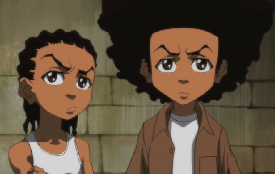 Aaron McGruder Creates New 'Boondocks' Strips for Black History Month