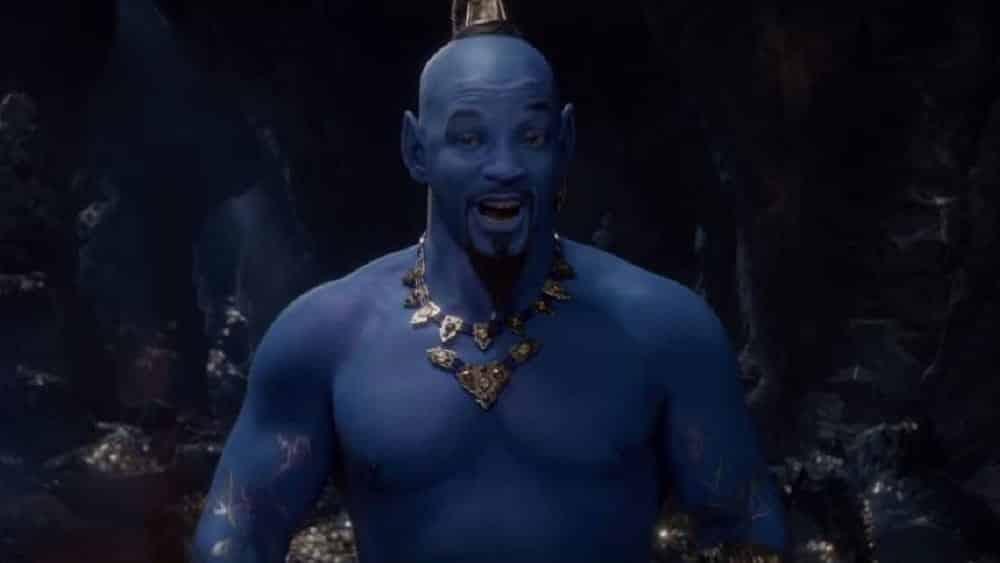 Disney Finally Previews Will Smith as Blue Genie in 'Aladdin'