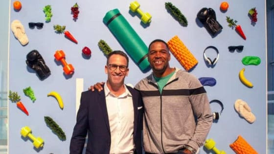 Michael Strahan Brings his Body-Positive Activewear to a Gym Near You