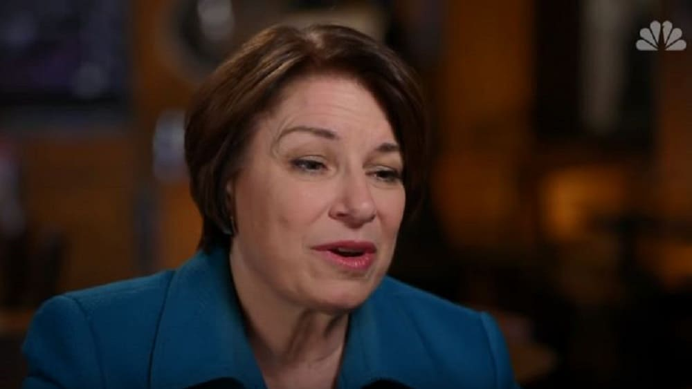 Sen. Amy Klobuchar: Slavery Reparations Don't Have to Be 'Direct Pay'