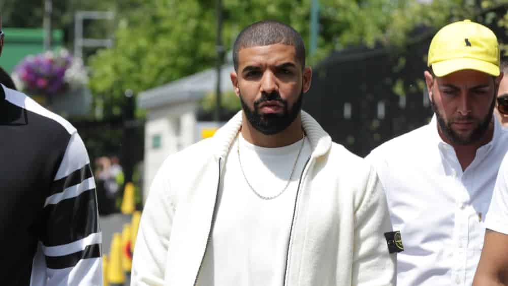5e56572901d1 Drake ( Aubrey Drake Graham ) seen at Wimbledon Championships on Jul 11