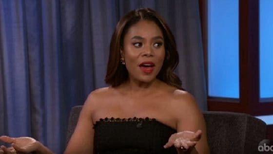 Regina Hall Shares Story About Getting High With Her Mom