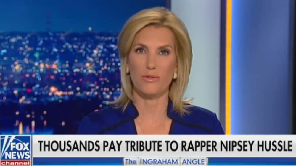 T.I. Slams Laura Ingraham's 'Disgusting' Nipsey Hussle Coverage