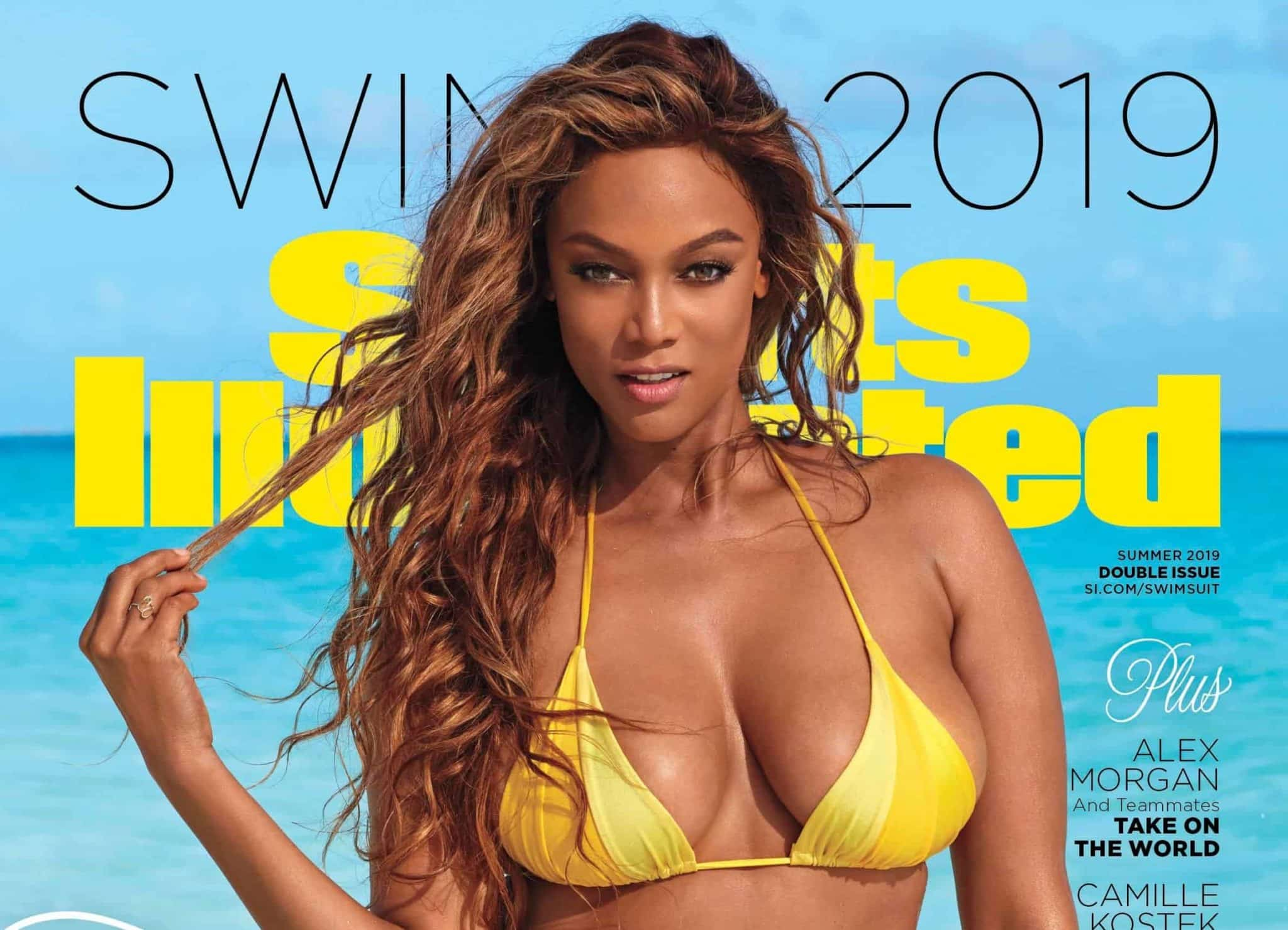 715b79017aa51 Tyra Banks posing during her 2019 Sports Illustrated Swimsuit photo shoot  in Great Exuma, Bahamas. Laretta Houston/SPORTS ILLUSTRATED