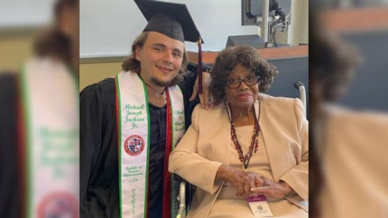 Michael Jackson's Son Is Officially a College Graduate