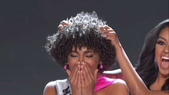 Miss Teen USA 2019 Explains Choice to Compete Sporting Natural Hair