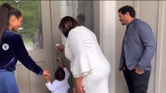 Russell Wilson & Ciara Surprise His Mom with New House